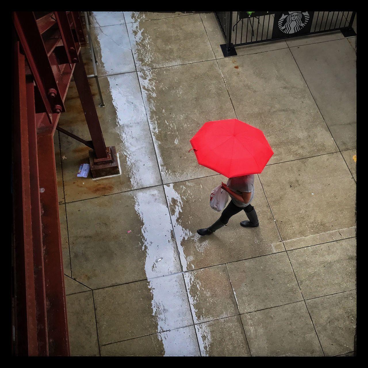 Umbrella Rain Chicago Streetphotography