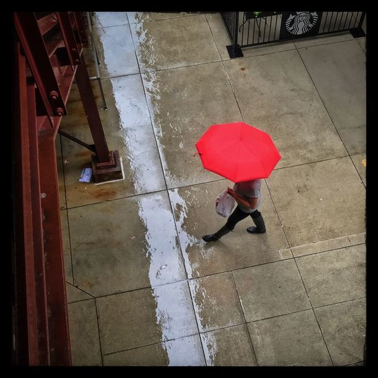 Umbrella Rain Chicago Streetphotography The Week On EyeEm