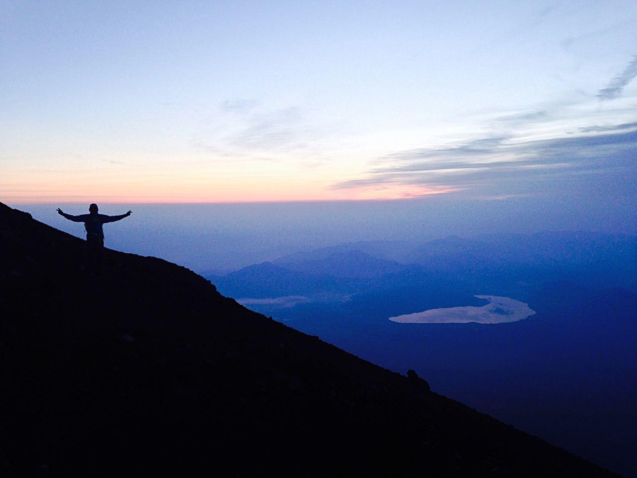 Mount FuJi 富士 山 旭 Mountains Sunrise What A View