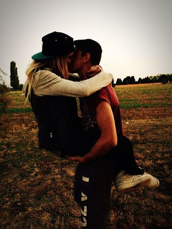 Love is beatyfull think Togetherness Outdoors Love Lifestyles Young Adult