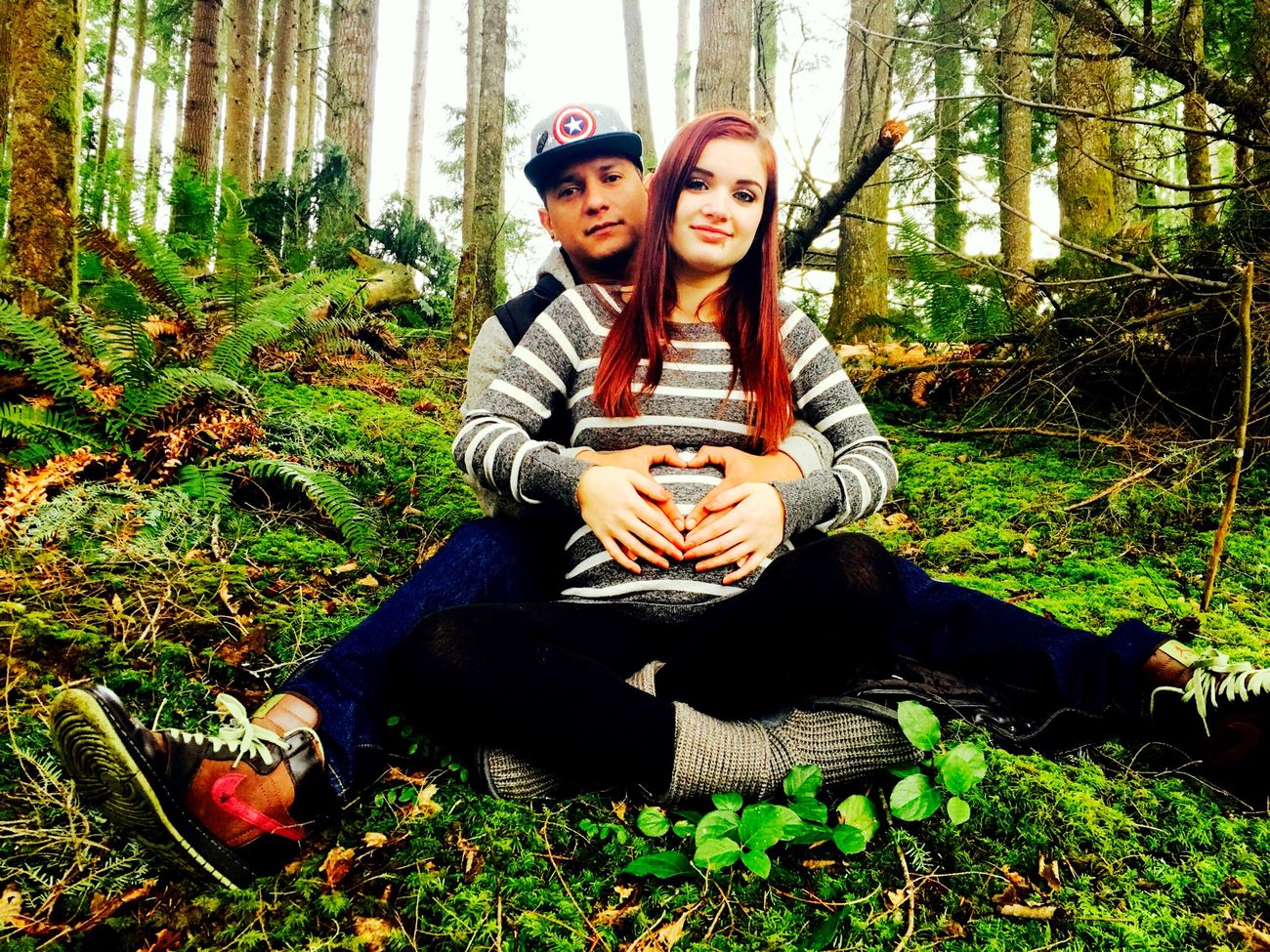 Firstborn Photography Pregnant Belly  Beginning Family