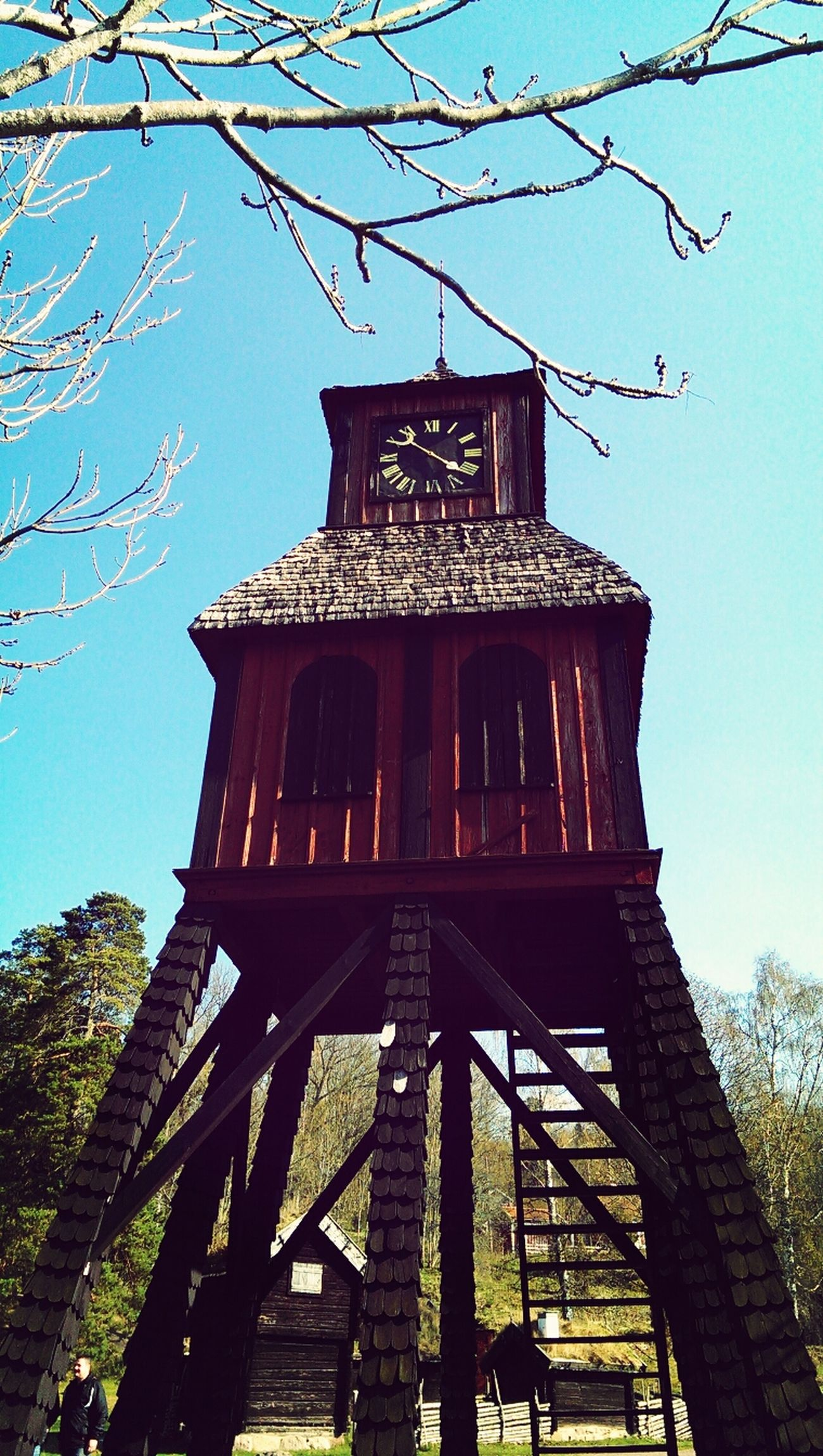 old Watchtower at the top of Grännaberget :) Spring Nature