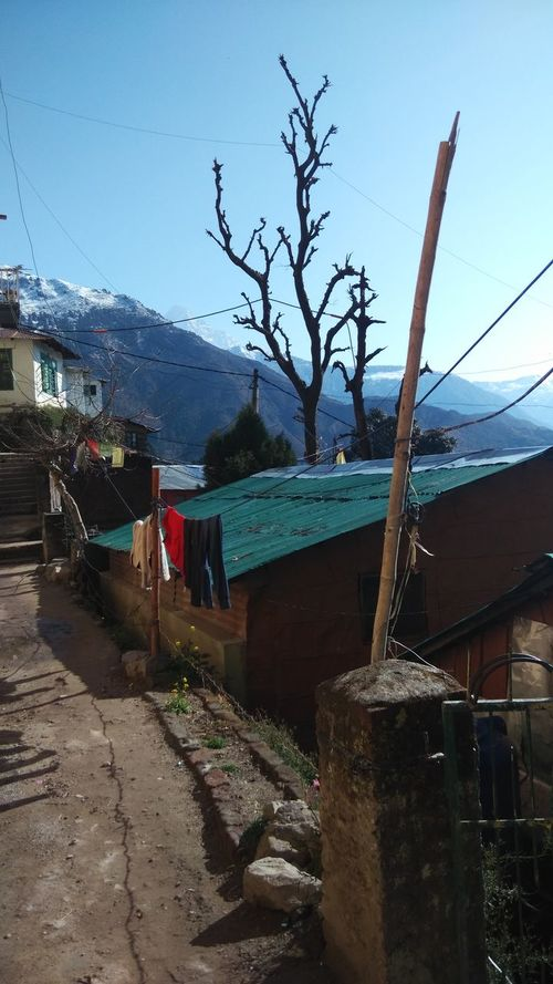 Color Photography Daramshala Hanging Human Settlement India Maclodganj Mobile Photography