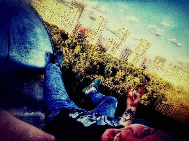 крыша ☀☀☀ высоко_сижу_далеко_гляжу Аеееее^^ Moscow, Москва ✌🏼️✌🏼✌🏼