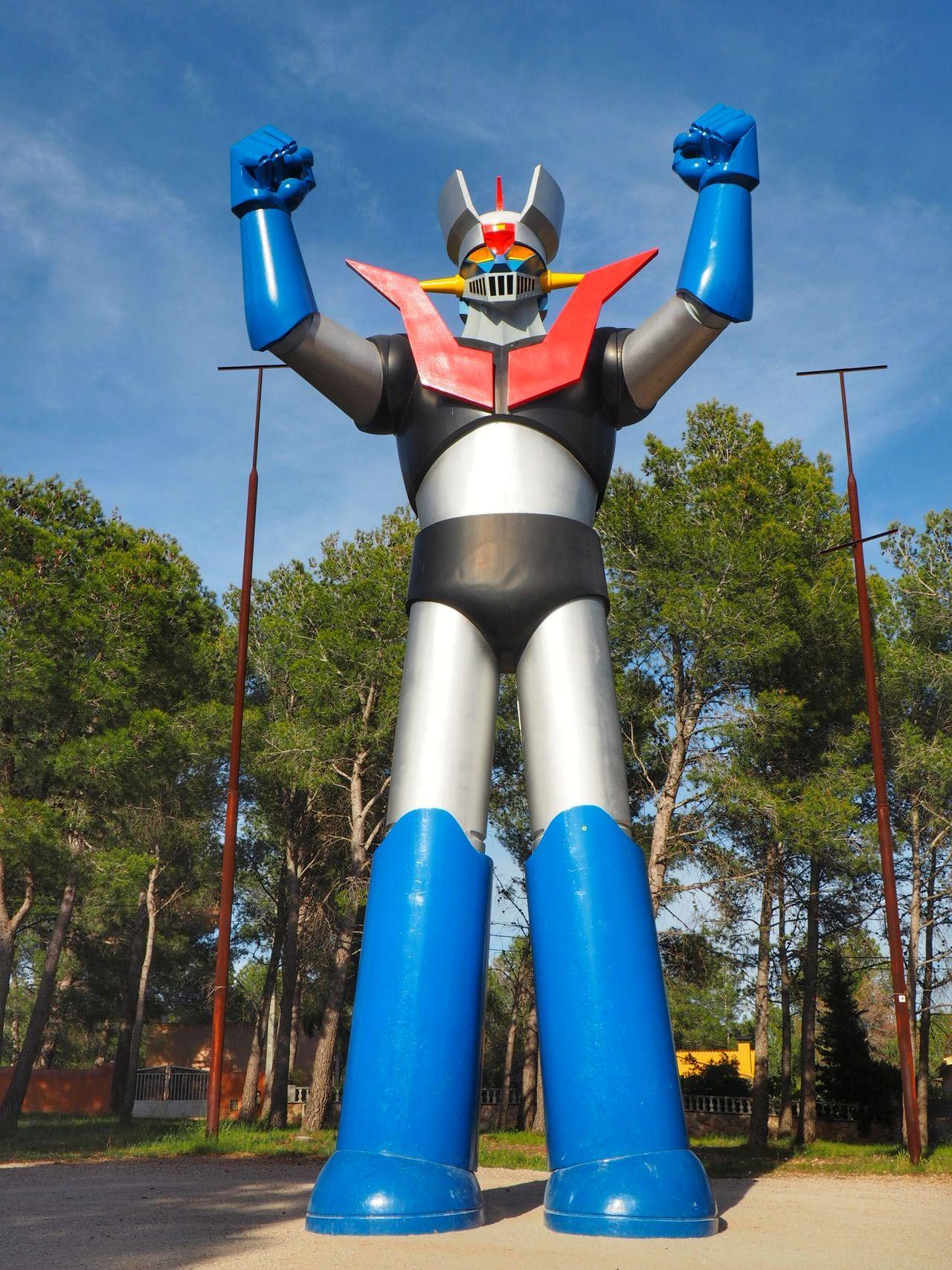 Mazinger Z Mazinger Z Freakday Freaky Sculture Robot Robot Love Epic Gigant Amazing Architecture
