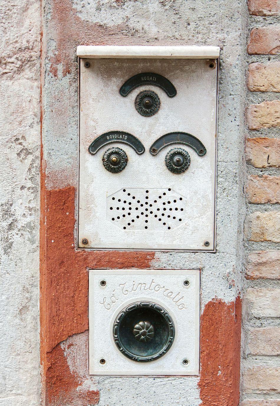 Tintoretto Venice Italy Europe Travel City Landmark Famous Place Architecture House Facades Exterior Buzzer Ringer