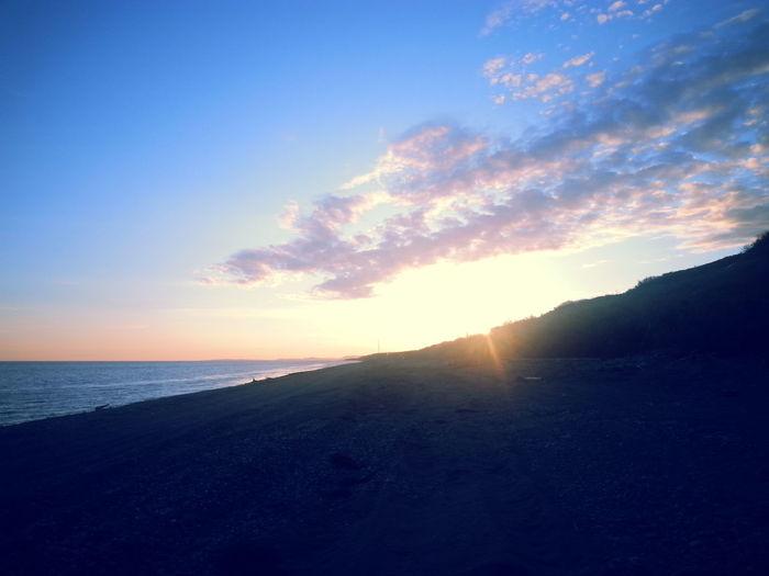 Alaskan sunrise. No Filter Beautiful Beach
