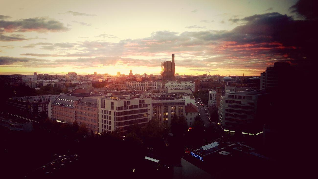 Sunset Sightseing Berlin Enjoying The View