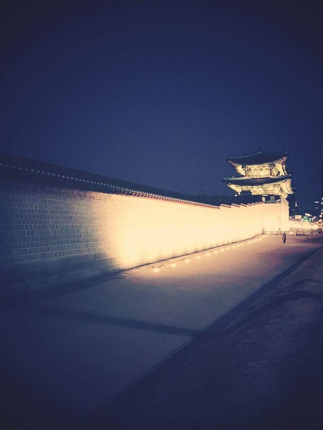 Gwanghwamun At Night LASTYEAR!!
