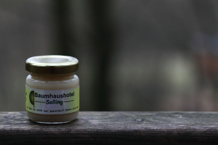 Baumhaus Baumhaushotel Close-up Day Germany Honey Macro Makro Nature Nature No People Outdoors Solling Text Wood