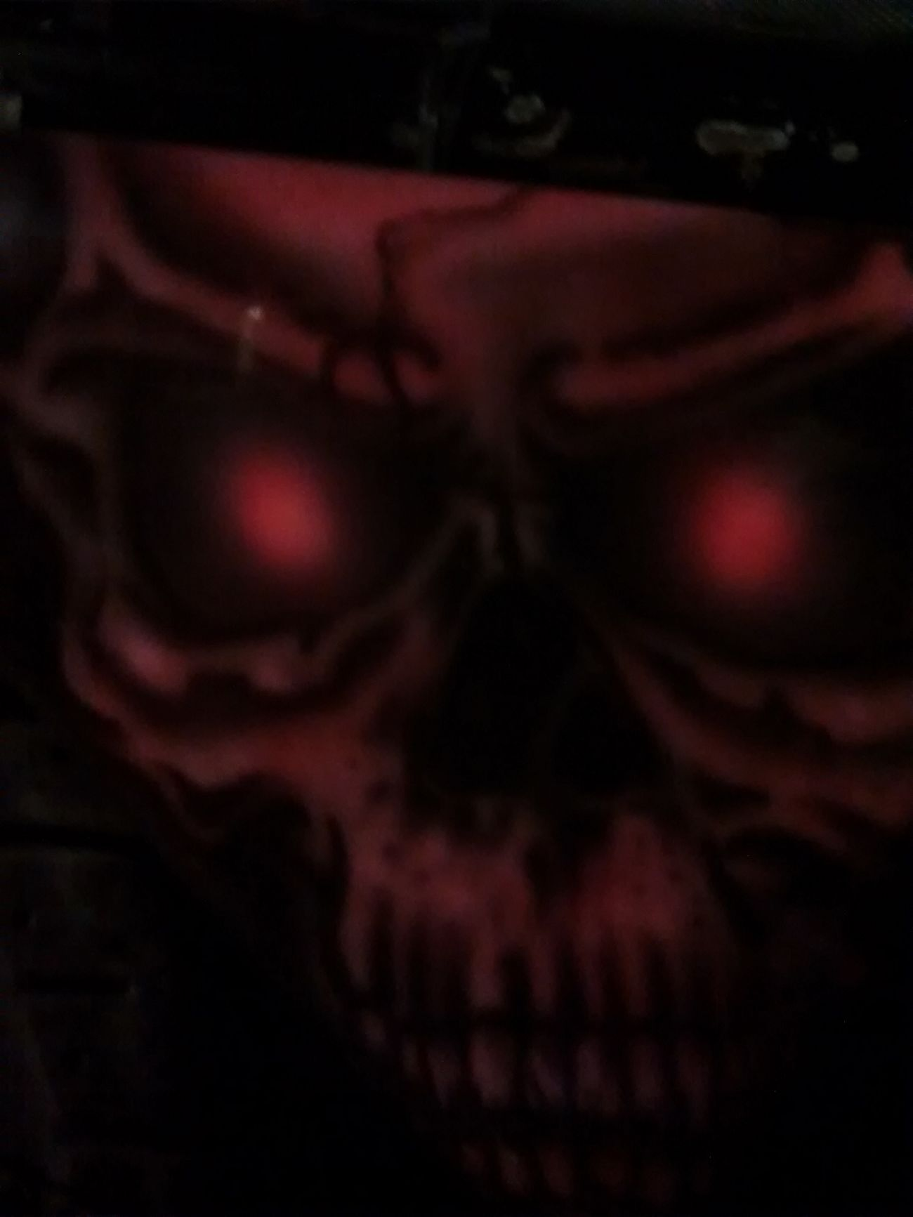 Airbrush Airbrushed Harley Davidson Skull MC