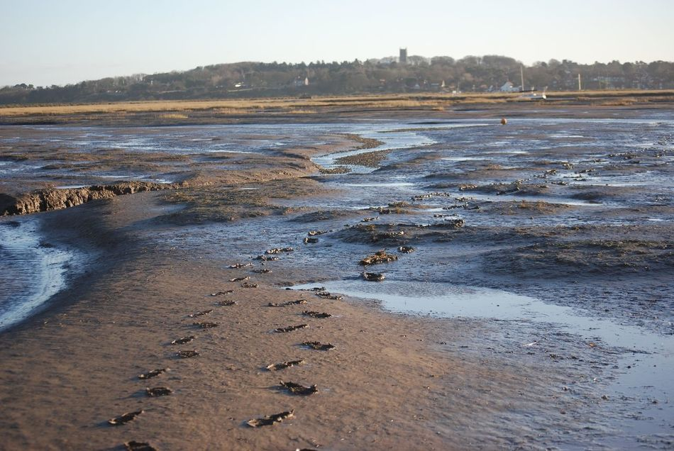 Water Nature Beauty In Nature No People Outdoors Scenics Day Sky Low Tide