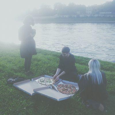 Vscocam VSCO Pizza Wisła kraków uczta rybki szczęście instamood instafood pornfood