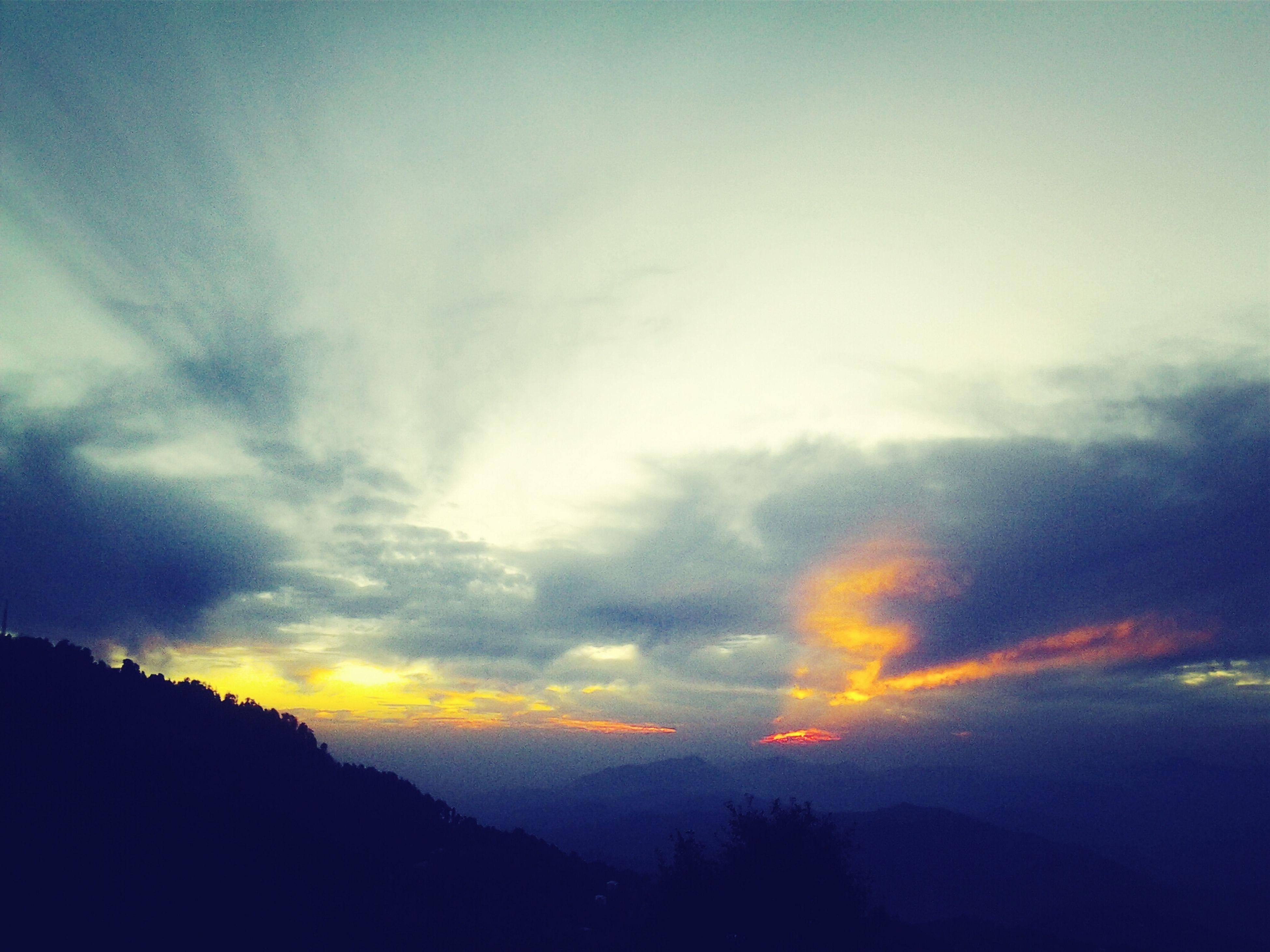 sunset with sheikh kashif <3