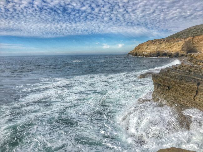 A beautiful day from the west coast. Scenics Sky Nature Ocean On The Beach Beach Hello World
