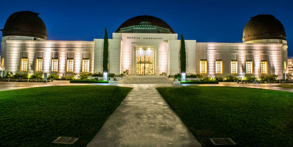 Architecture Capital Cities  Column Courtyard  Dome Façade Famous Place Griffith Observatory History Monument Observatory Outdoors Sky Tourism Travel Destinations