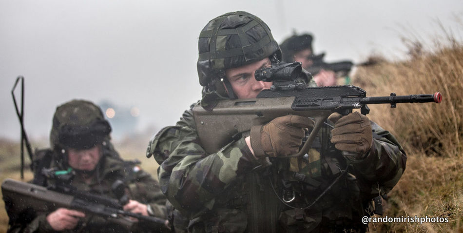 Irish Defences Forces in pre-deployment training before UN mission to Syria. Irish Army United Nations Defence Forces Better Together Discover Ireland