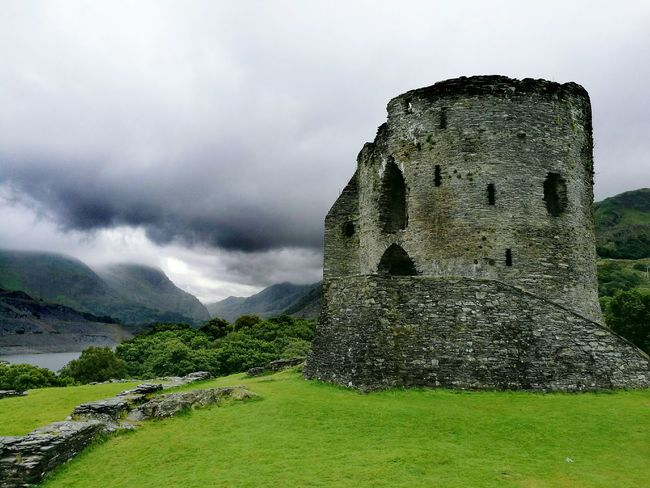 Dolbadarn Castle First Eyeem Photo Castle View  Wales Llanberis Cadw Dolbadarncastle Snowdonia National Park Beauty In Architecture 13th Century Medieval Architecture Medieval Castle Darkness And Light Grey Skies Llanberis Pass Llyn Padarn Castle Ruin