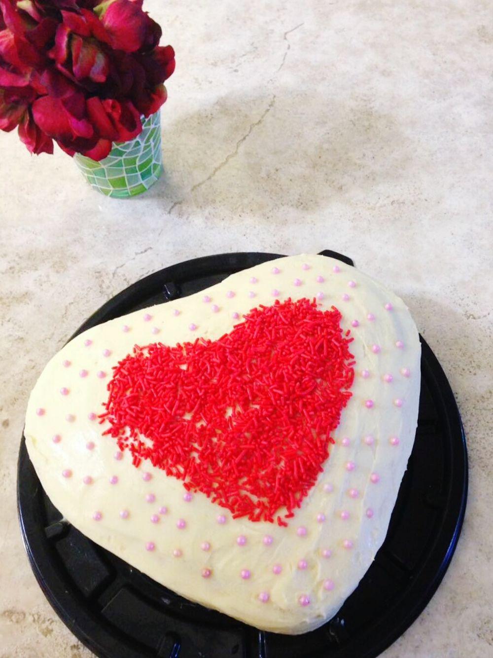 Cake♥ Heart ❤ Love ♥ Food Sweet Food Grastronomy Taking Photos Hello EyeEm Cupcake Colors Cocinando My Hobby Love♡ Estoesvida