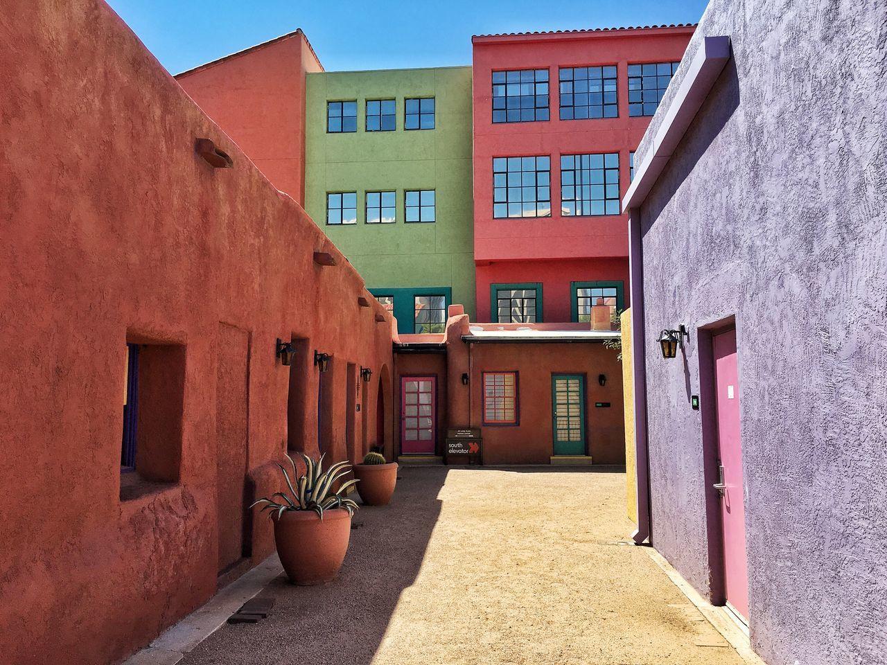 La Placita. Architecture Architecture_collection Architectural Detail Colorful Buildings Buildings Historical Building
