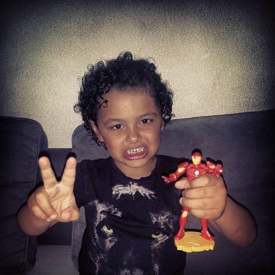 Yeaaah ! Aaronman Peace Trophee Marvel ironman happy au max tbt .....