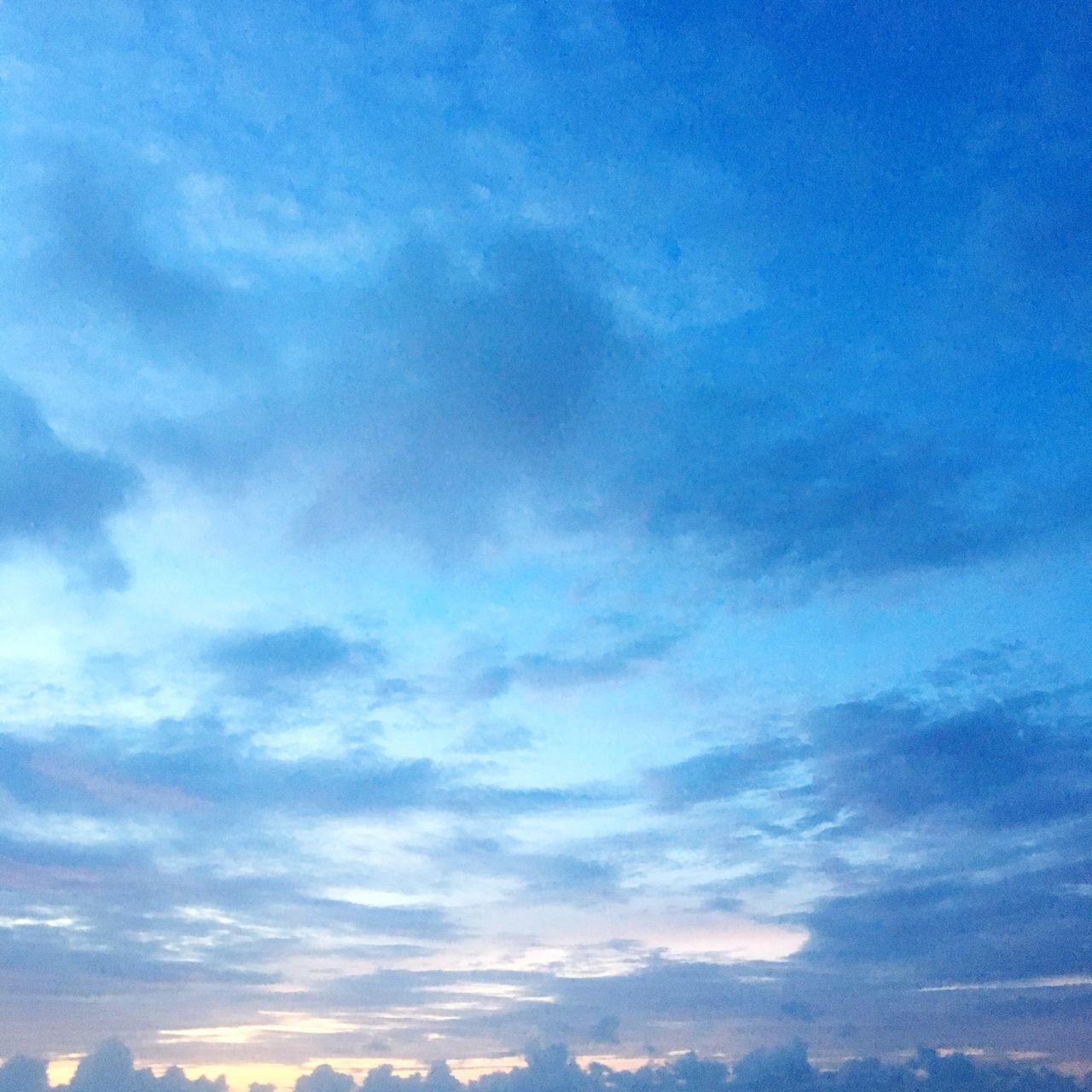 I don't know how to live. Sky Blue Magic Hour