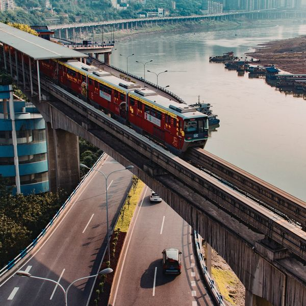 Train On The Road Chongqing Travel Check This Out Color VSCO