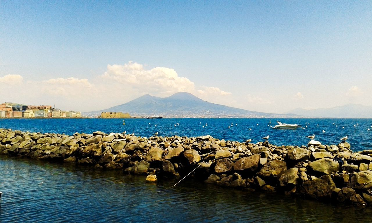Italy🇮🇹 Italy 🇮🇹 Italy Italy❤️ Italia Napoli Italy Napoli ❤ Napoli Naples💙 Naples🌊💙 Naples Is Wonderful Naples, Italy Naples ıtaly Napolinstagram Italygram Sea Nature No People Sky Outdoors Water Beauty In Nature Scenics Day