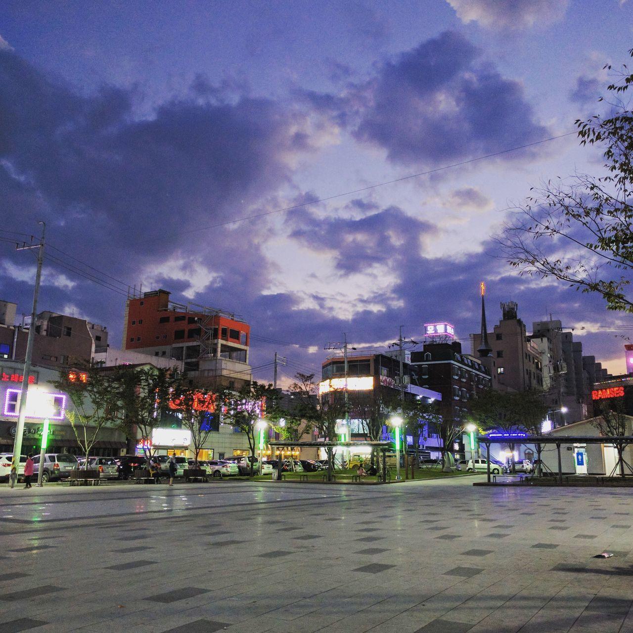 Night Cloud - Sky Sky Outdoors City Korea 광양 Park