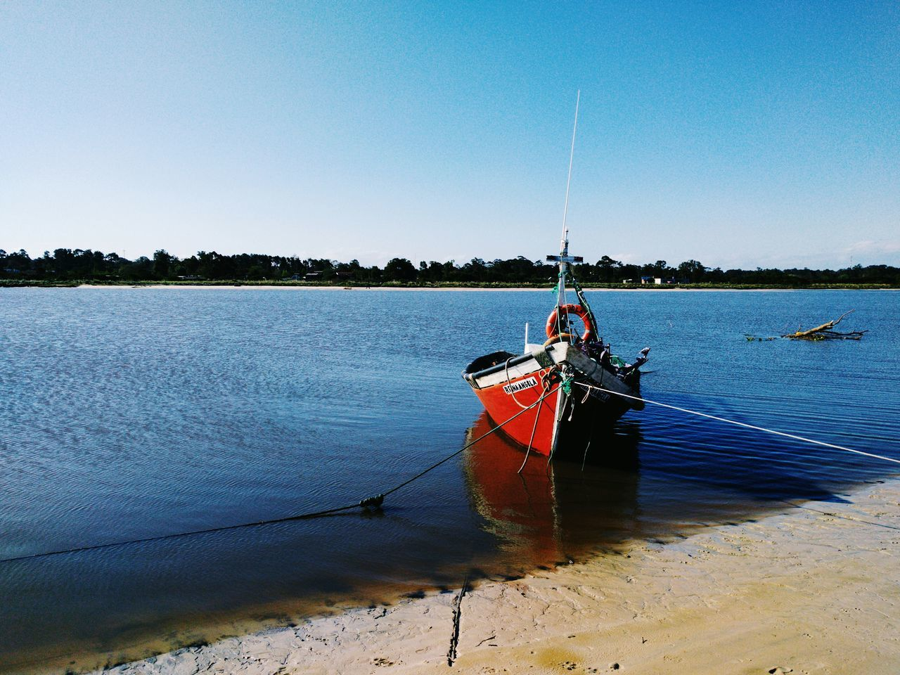 El último bote Photo Foto Tranquility Landscape Day Outdoors Nautical Vessel No People Sky Water Nature