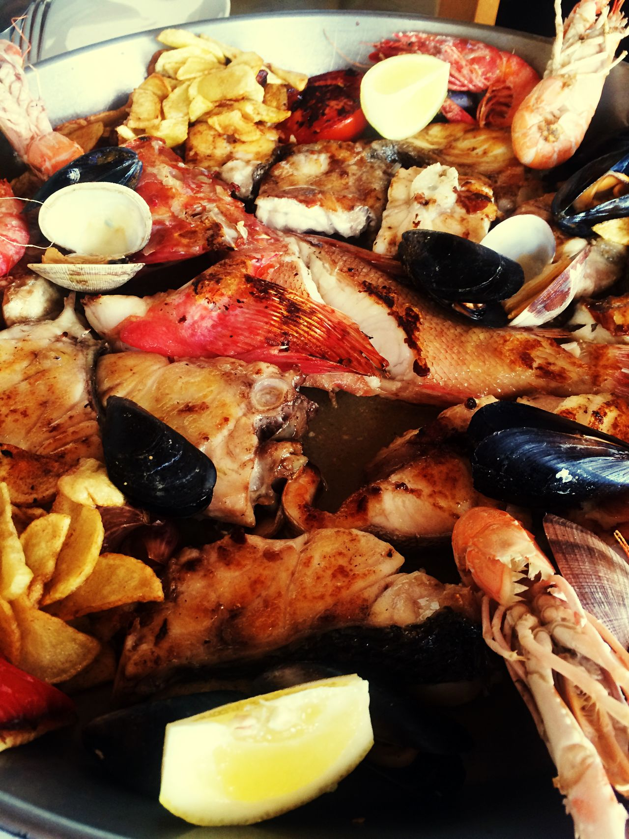 Seafood Parrillada Ibiza Albariño