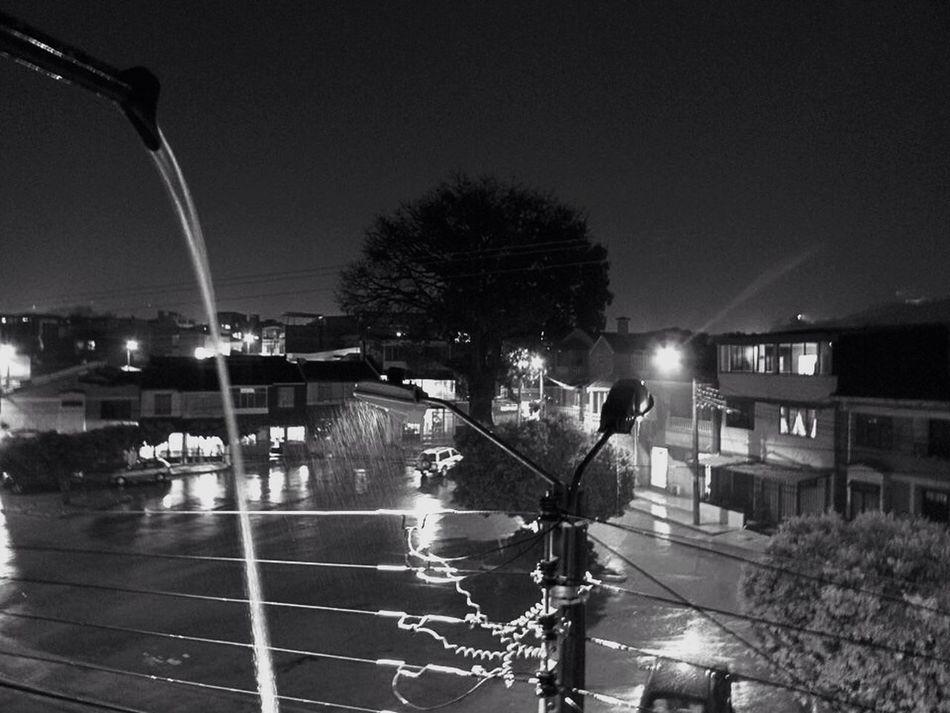Taking Photos Rain Blackandwhite