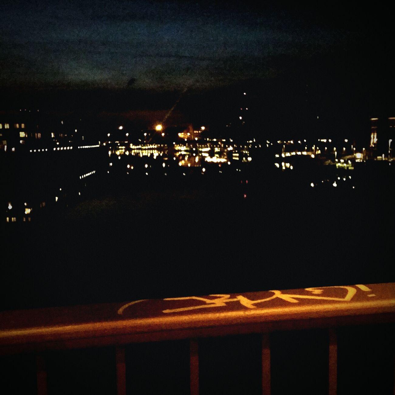 Bremen Bremen City Germany Nightphotography Wilhelmkaisenbrücke Weser Hansestadt