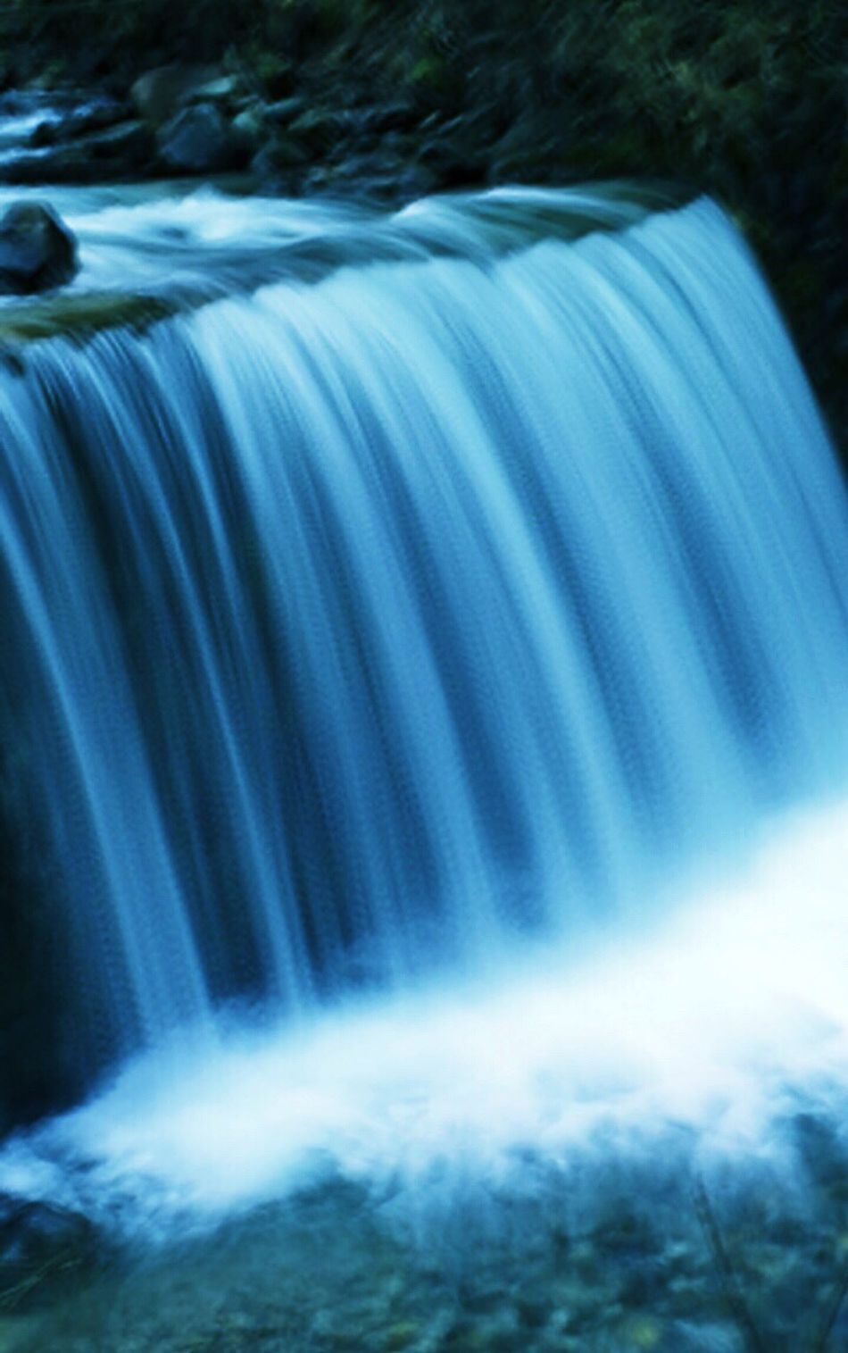 Water Water_collection Waterfall Slow Shutter Blue Lusen  Tyrol Italy