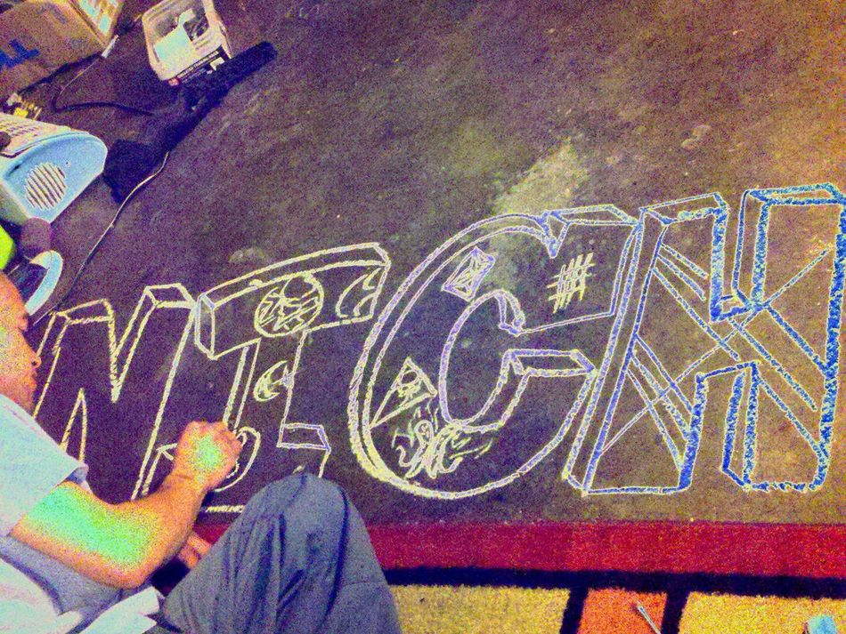chalk Multi Colored Close-up Nichole Enjoying Life That's Me Hello World No People