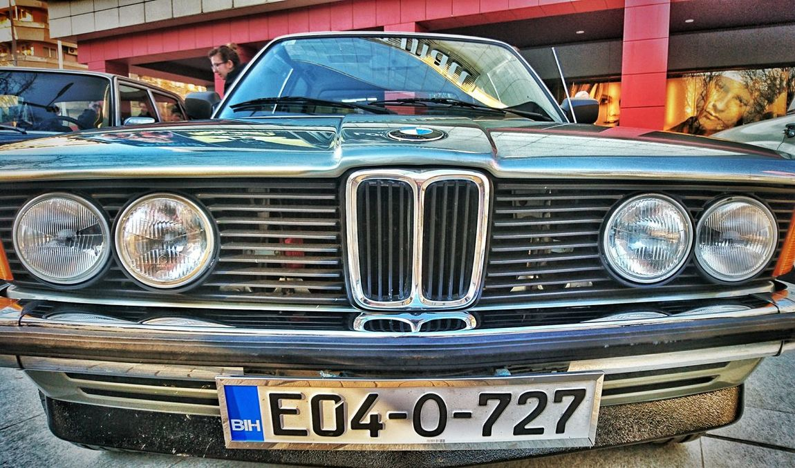 Old-fashioned Land Vehicle Close-up Vintage Cars Vintage Mostar Oldtime Old Car Bmw Car Alpina Z5 Photography