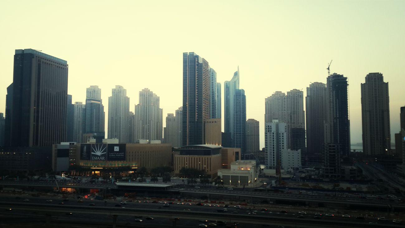 View from JLT cluster R aint that bad. DXB Dubai Enjoying Life