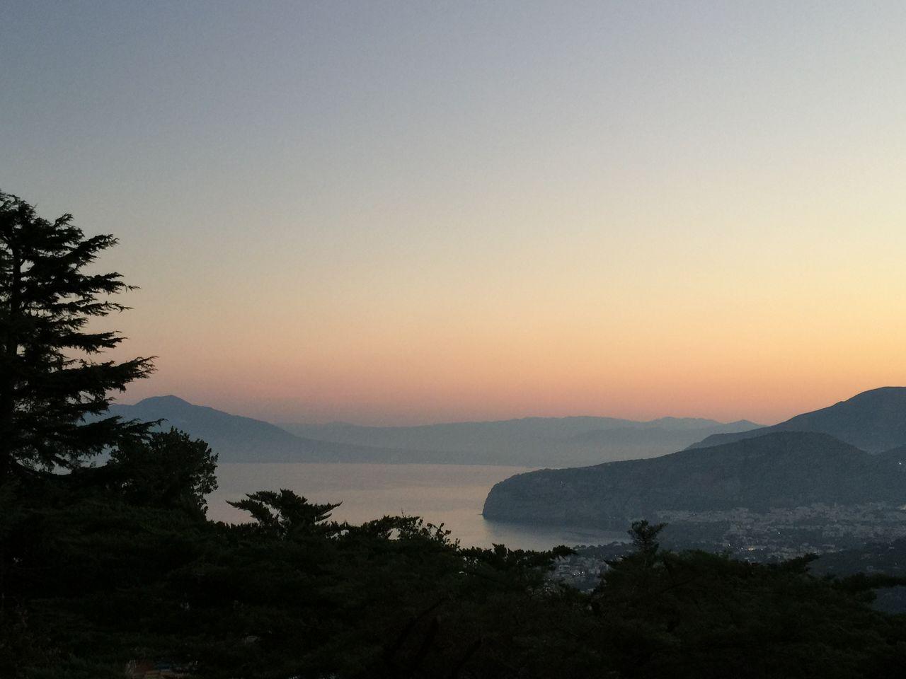 Sorrento sunrise Sunrise IPhoneography Italy Summertime Holidays
