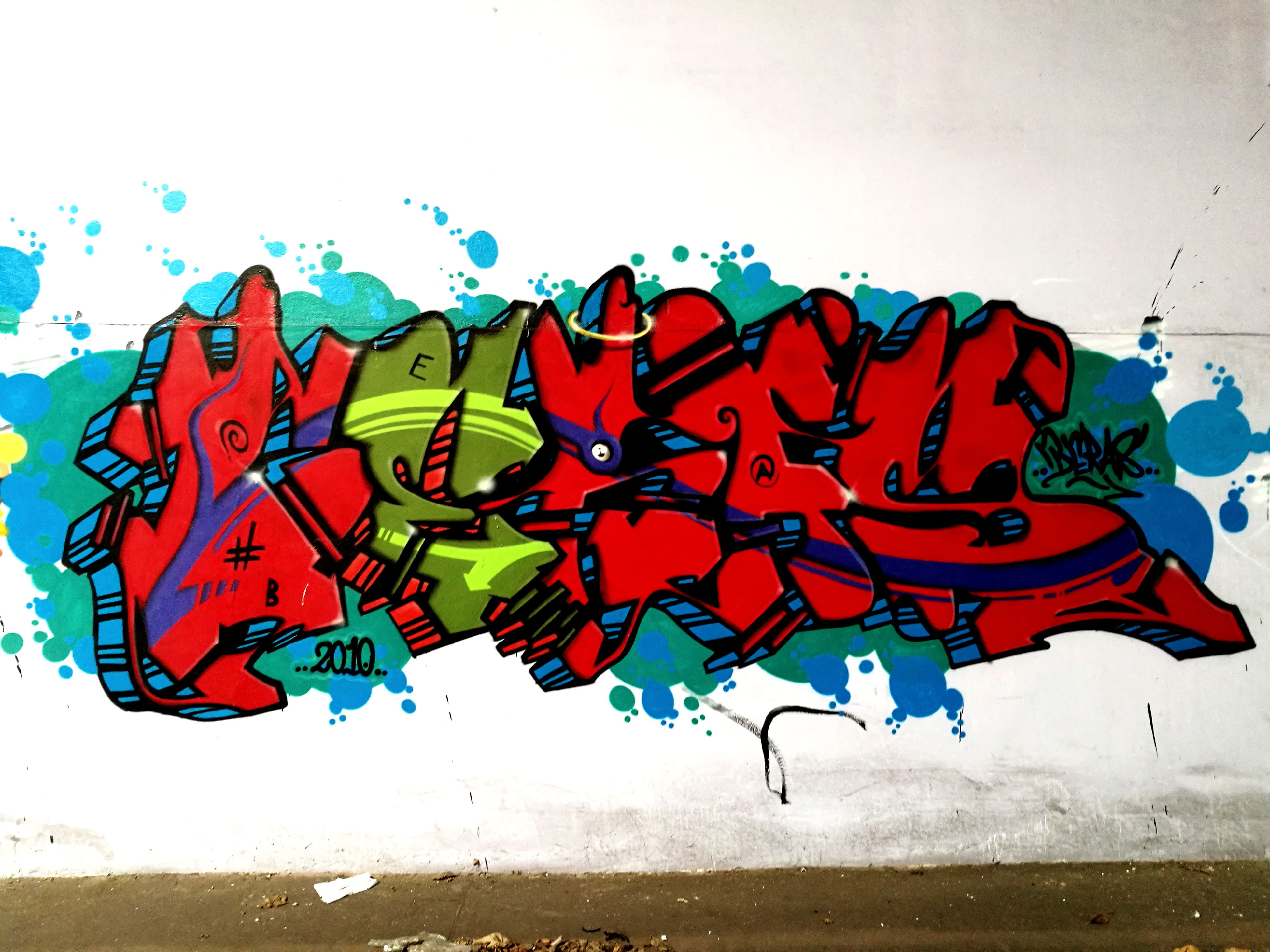 art and craft, creativity, graffiti, multi colored, paint, no people, outdoors, day, white background, close-up, sky