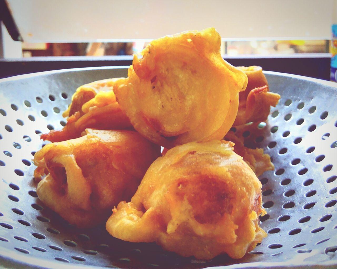 Deep Fried  CRYSPY Cempedak Asian  Fruit Jack Fruit Oily Dessert Food Yellow Skin Heaty