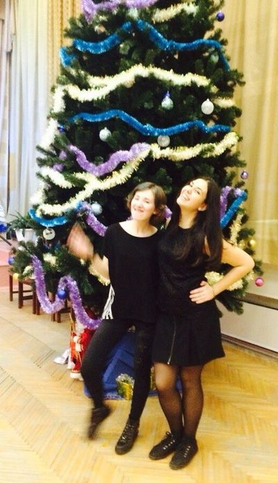Smile Christmas Tree Happy New Year Bestfriends Light Girls Cute Party Crazy School