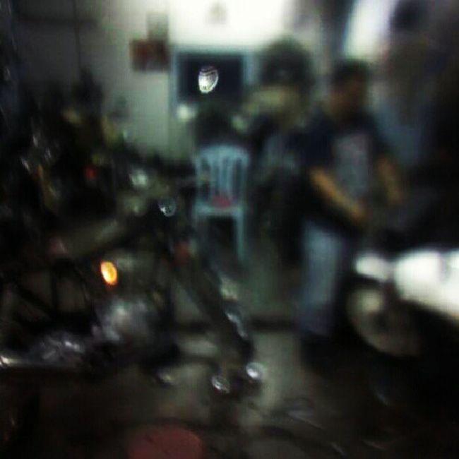 chopper's garage