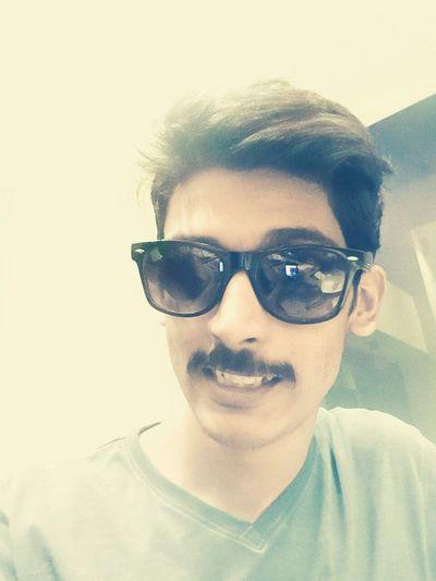 Boy Guy He Moustache ♥ Glares Shades Goggle Eyes