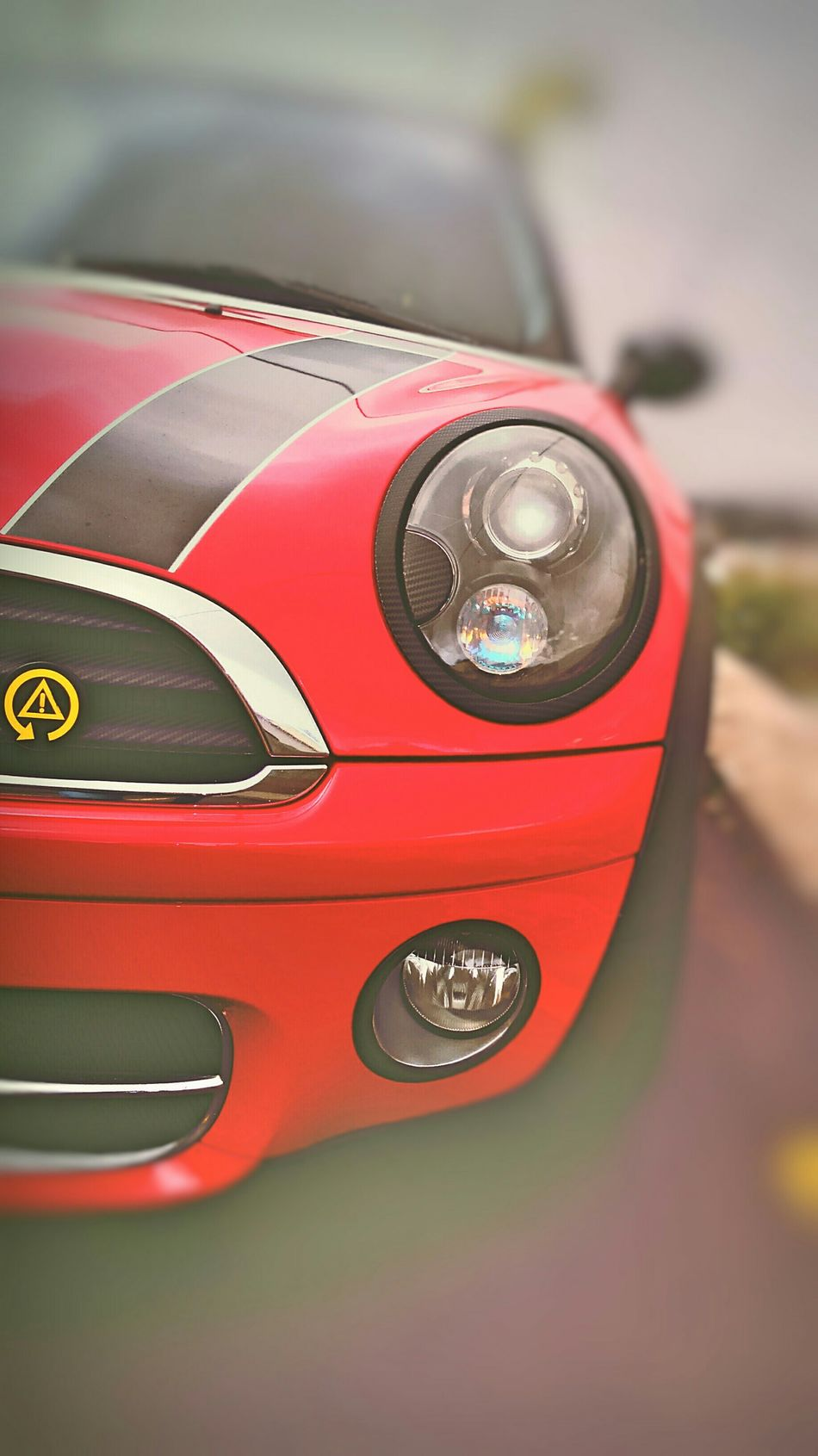 MinicooperS RedBlack Striped Minitorque Cars Sport Cars I Love Cars ♥ Eye4photography  Streetphotography Red