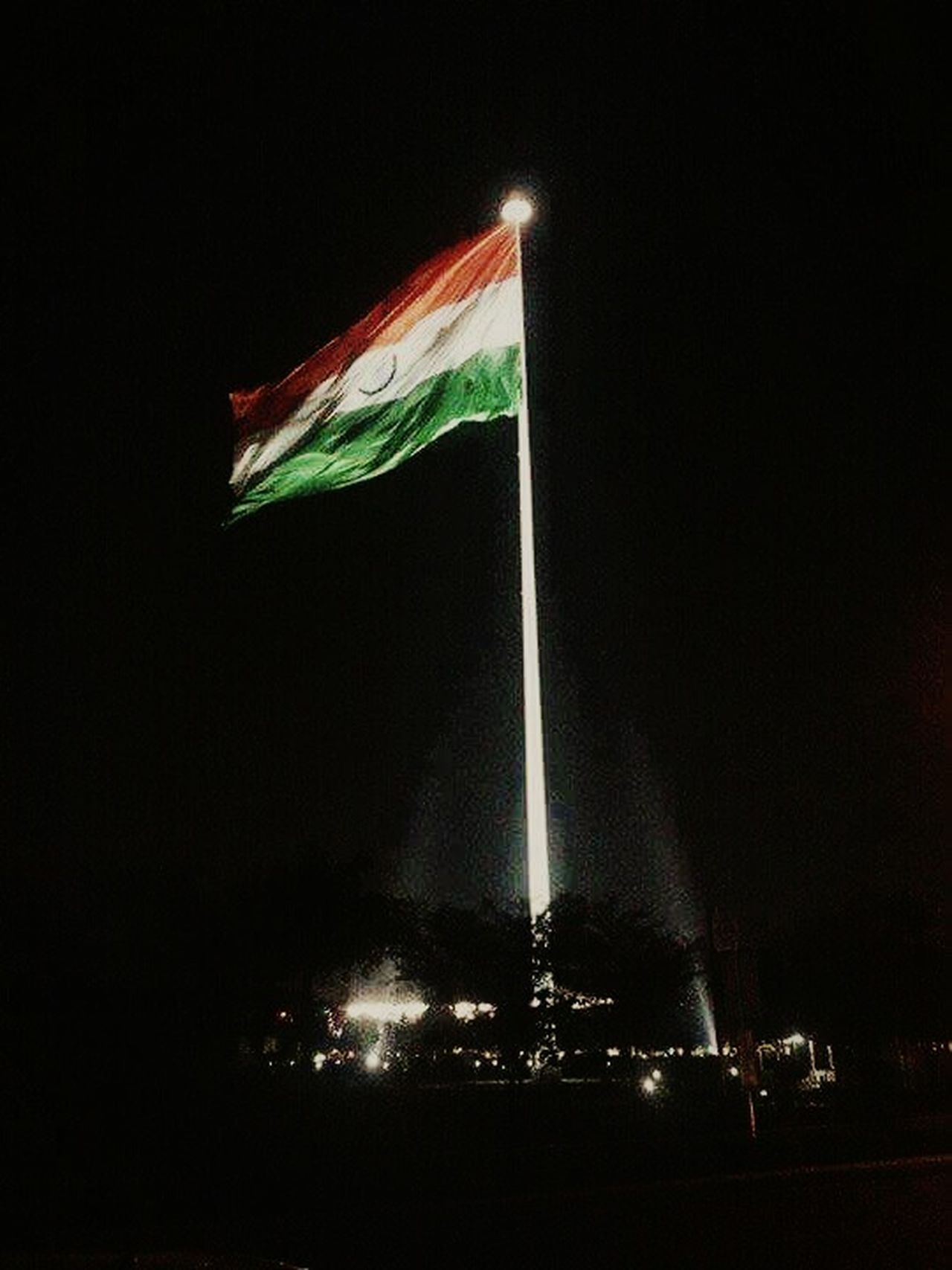 Flag Low Angle View No People Night Outdoors Sky Best EyeEm Shot Best Of EyeEm New Talents EyeEmNewHere Flag Pole Indian India New Talent This Week Welcome To Black Indianphotography Office Building Exterior Latest Pic. Low Angle View Welcome To My Eyeem Long Goodbye Welcome To Black