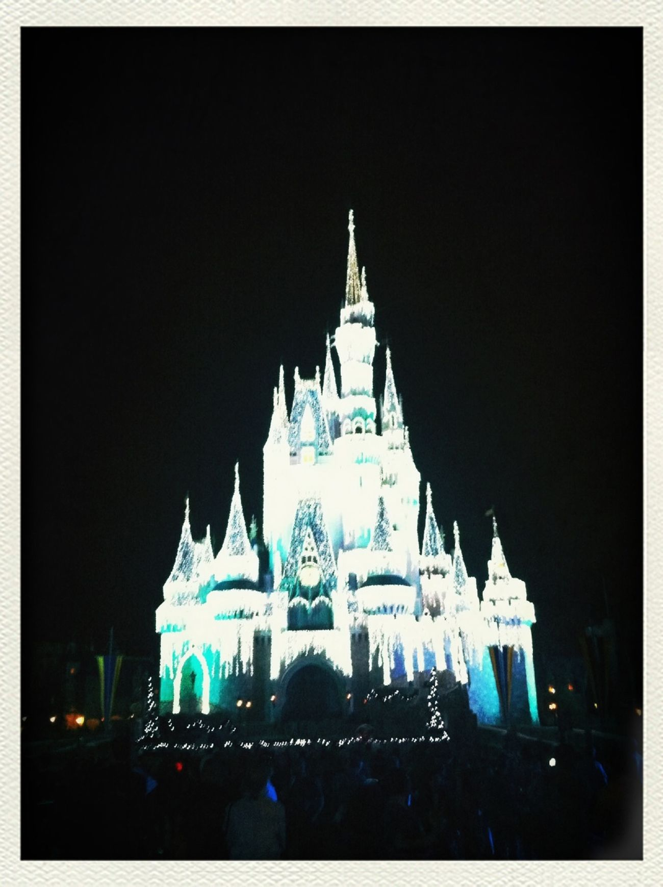 Disneypalaceatnight