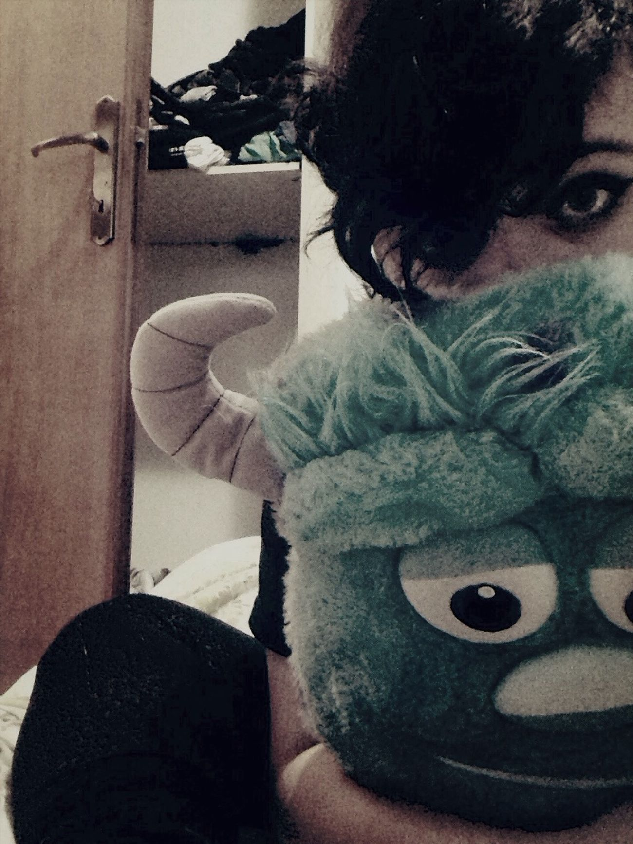 -Goodbye boo, kitty has to go. That's Me Sulley Boo Monsters & Co