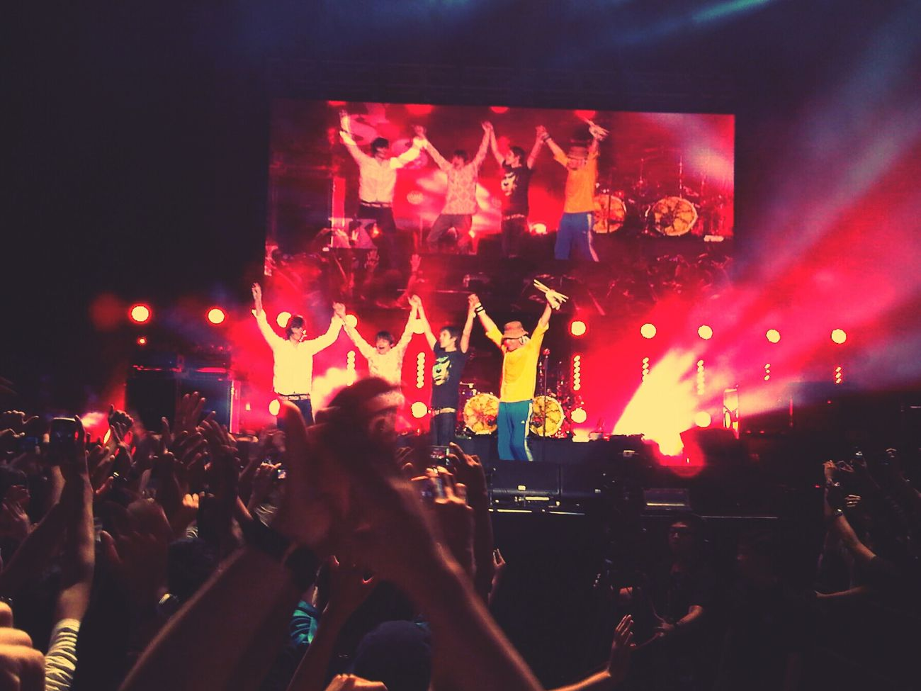 Bandswelove The Stone Roses live at Singapore Indoor Stadium, July 2012