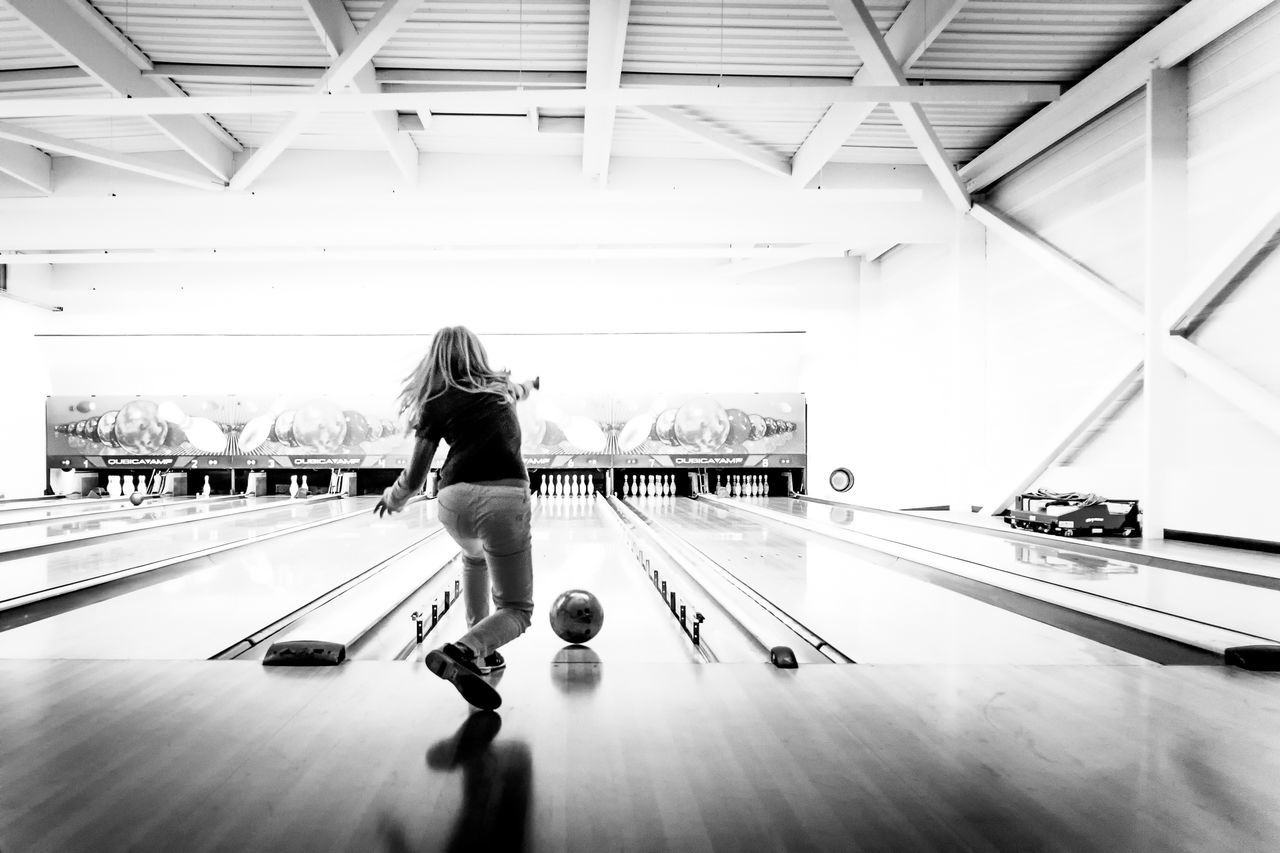 Beautiful stock photos of bowling, Arts Culture And Entertainment, Ball, Bowling Alley, Bowling Ball