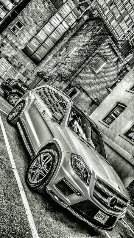 Mercedes SUV Taking Photos Check This Out Nikon Black&white Blackandwhite EyeEmBestPics Cars Luxury